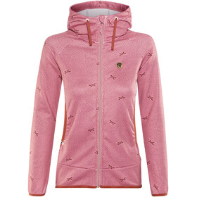 Maloja AmaliaM. Hooded Fleece Jacket Women cherry blossom